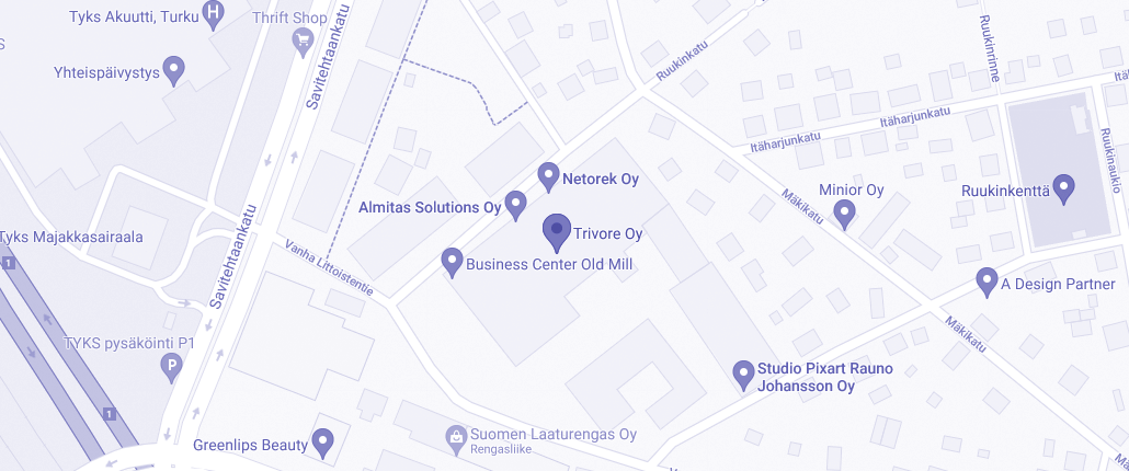 Trivoren toimisto - linkki google maps